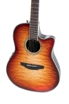 Ovation Celebrity Standard Plus E-Acoustic Guitar CS24X-7C, Mid, Cognac Burst Gloss - - alt view 2
