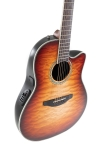 Ovation Celebrity Standard Plus E-Acoustic Guitar CS24X-7C, Mid, Cognac Burst Gloss - - alt view 3