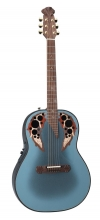 Adamas I E-Acoustic Guitar 1687GT-8, Deep Bowl, Reverse Blue Burst - - alt view 1