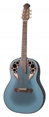 Adamas I E-Acoustic Guitar 1687GT-8, Deep Bowl, Reverse Blue Burst - - alt view 2
