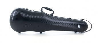 PURE by GEWA Violin Case, Polycarbonate 1.8, Shaped, Black/Black w/Subway Handle