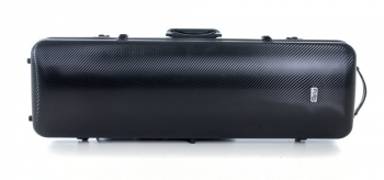 PURE by GEWA Violin Case, Polycarbonate 2.4, Oblong, Black/Black w/Subway Handle