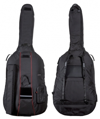 GEWA Double Bass Gig-Bag, Prestige, 25mm padding, 3/4, Black