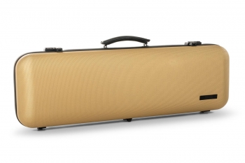 GEWA Violin Case, Air Avantgarde, Oblong, 4/4, Gold/Black