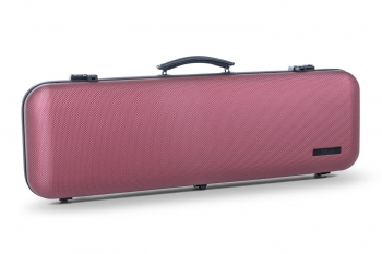 GEWA Violin Case, Air Avantgarde, Oblong, 4/4, Bordeaux/Black