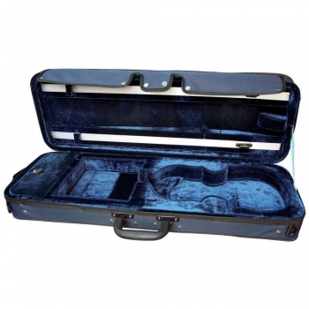 GEWAPURE Violin Case, CVK02, 4/4, Dark Blue/Blue