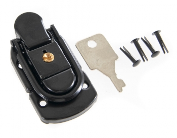 Replacement Draw Latch Pair, Lockable, Black