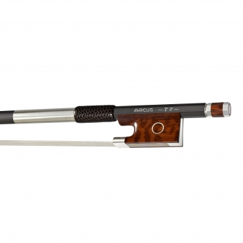 Arcus Violin Bow, T7, Silver, Round