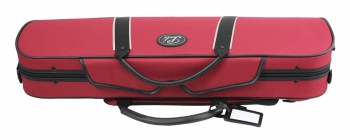 Pedi Violin Case, NiteFlash, 4/4, Red/Grey