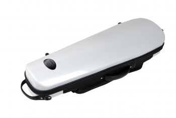 Pedi Violin Case, Streamliner P320v, 4/4, White/Grey