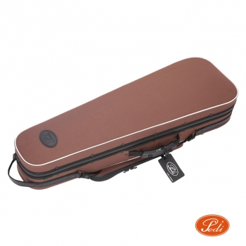 Pedi Violin Case, Niteflash Superlite Pro, P100v, 4/4, Brown