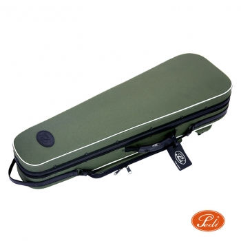 Pedi Violin Case, Niteflash Superlite Pro, P100v, 4/4, Green