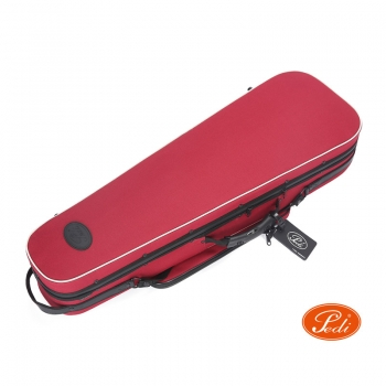 Pedi Violin Case, Niteflash Superlite Pro, P100v, 4/4, Red