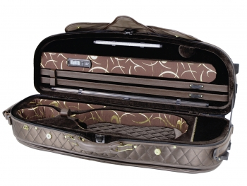 Pedi Violin Case, Model 8300, 4/4, Chocolate/Dark Brown