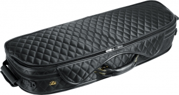 Pedi Violin Case, Model 8300, 4/4, Black/Camel
