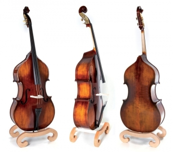 GEWA Bass, Basic Line, Fully Solid, 4/4, Violin Shaped, Arched, Setup