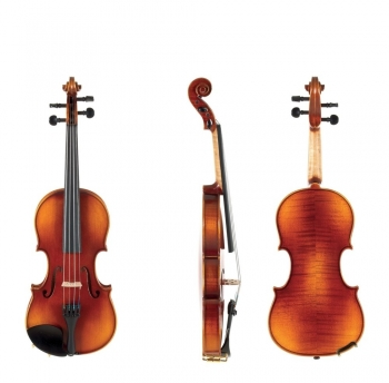 GEWA Violin, L'Apprenti VL2, 1/4, Setup with Alphayue, Instrument only, Post Up