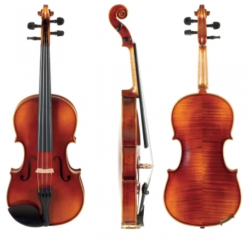 GEWA Violin, L'Apprenti VL2, 4/4, Setup with Tonica, Instrument only, Post Up
