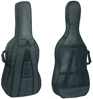 GEWAPURE Cello Gig-Bag, Classic CS01, 3mm padding, 4/4, Black