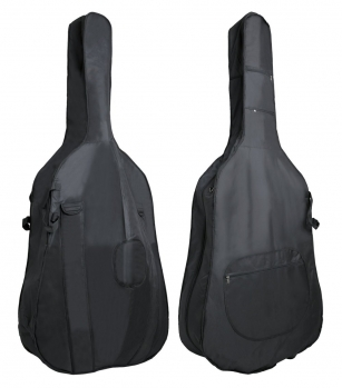 GEWAPURE Double Bass Gig-Bag, Classic BS01, 3mm padding, 4/4, Black