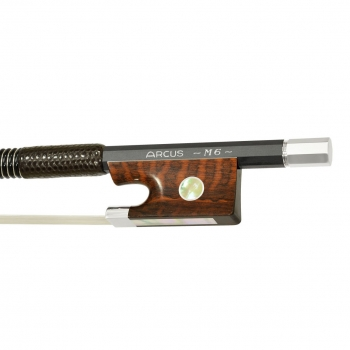 Arcus Violin Bow, M6, Silver, Round