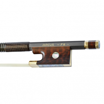 Arcus Violin Bow, P8, Gold, Octagonal