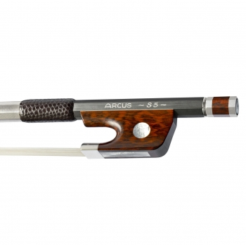 Arcus Violin Bow, S5, Silver, Round