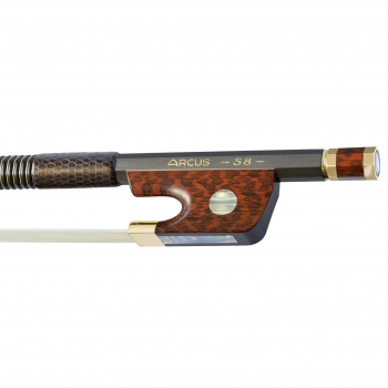 Arcus Violin Bow, S8, Gold, Round