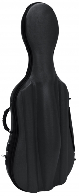 GEWAPURE Cello Case, CS02, Semi-Soft , 3/4, Black/Black